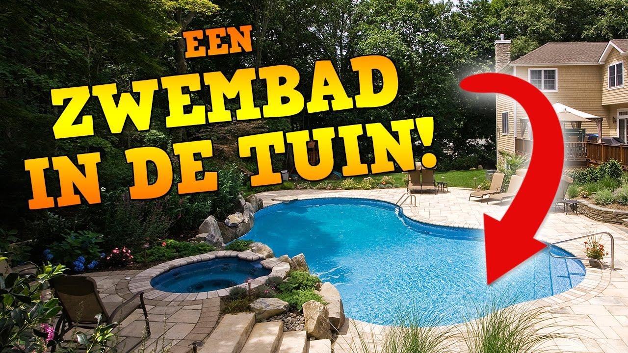 Een zwembad in de tuin youtube - Outs zwembad in de tuin ...