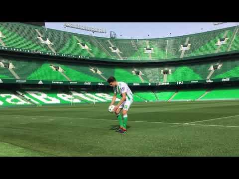 Presentación de Marc Bartra con el Real Betis
