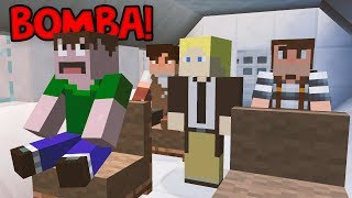 MINECRAFT DETETIVE: BOMBA NO AVIÃO!