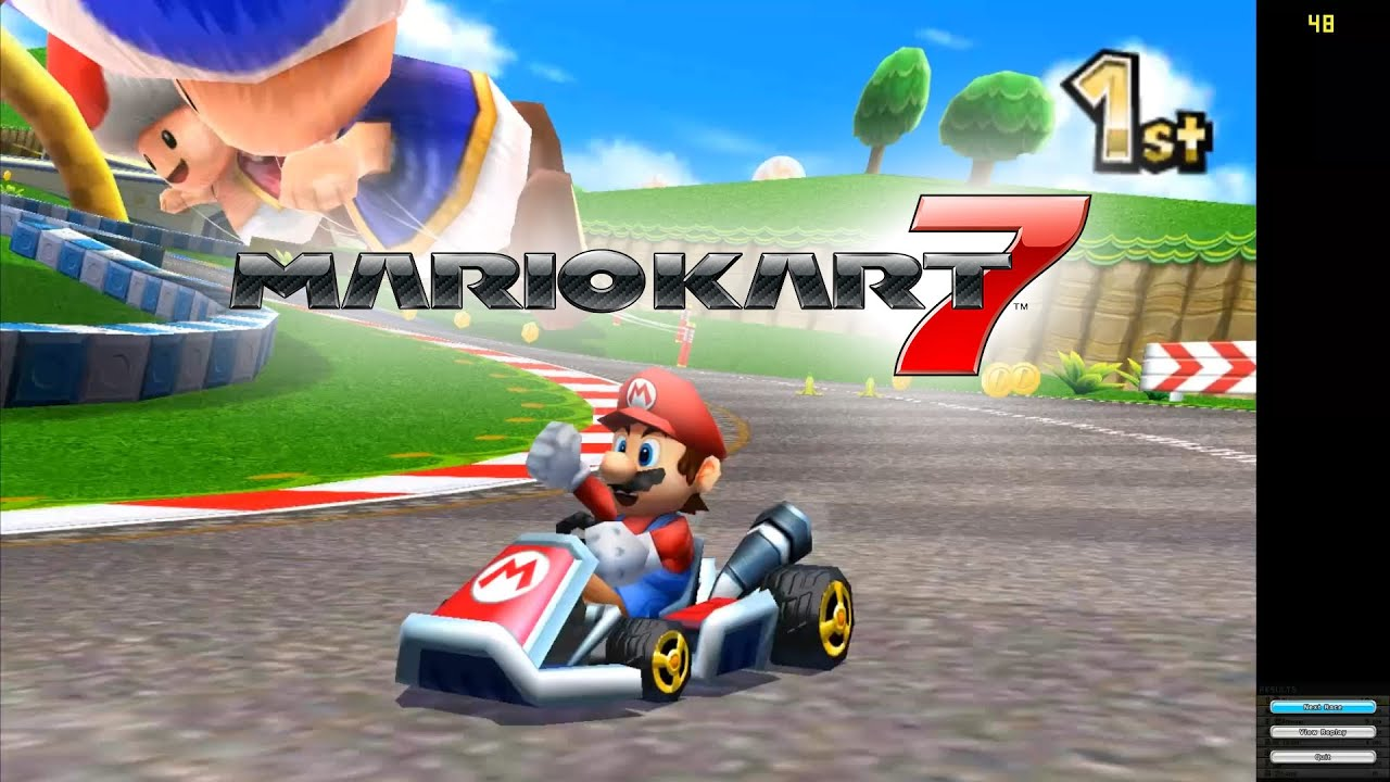 mario kart 7 citra emulator cpu jit 1080p hd nintendo 3ds youtube. Black Bedroom Furniture Sets. Home Design Ideas