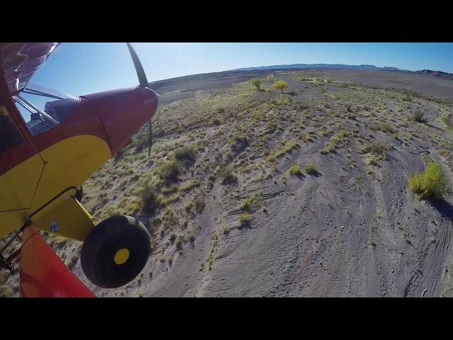 Utah Backcountry Flying 2017 Landing a Sand Wash