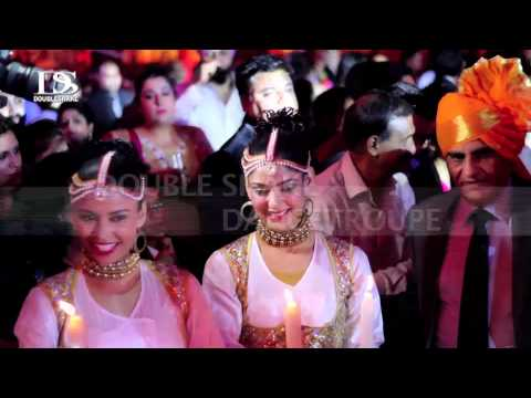 Din Shagna da Bridal Entry in wedding with Sufi...