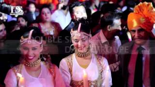 Din Shagna da Bridal Entry in wedding with Sufi Theme in New Delhi,Gurgaon Double Shake India