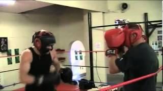 John Roodt vs Chris Ryder Sparring Part 2