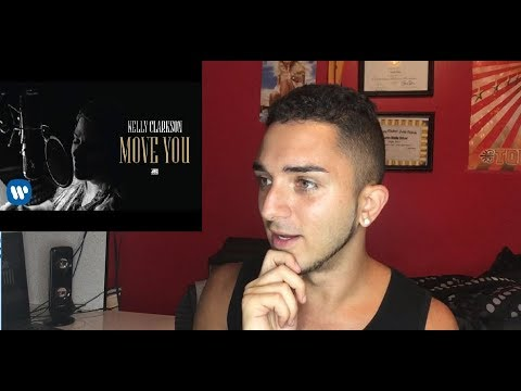 KELLY CLARKSON: MOVE YOU (FIRST REACTION!)