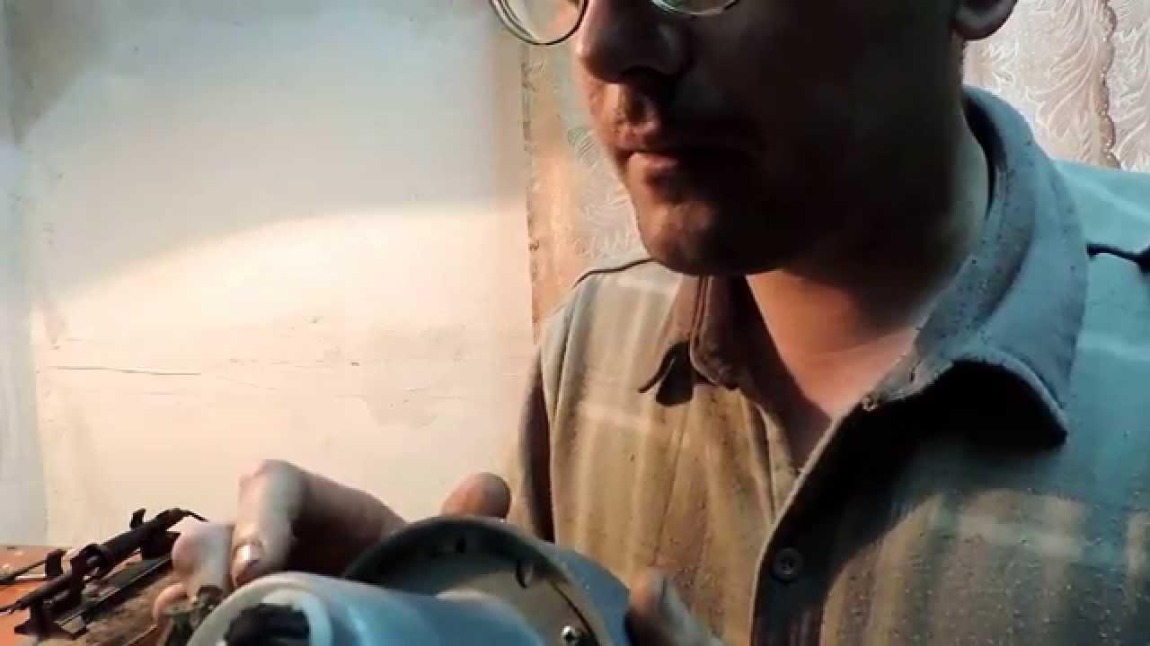заводская халтура эл двигатель от пылесоса