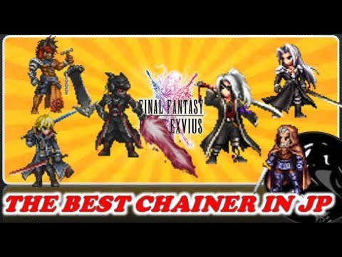Ffbe Best Chainers 2019 FFBE] 7☆ Notable Physical Chainers Comparison!   YouTube