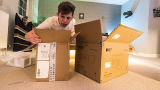 The Gaming Setup MAKEOVER! Unboxing NEW TOYS!
