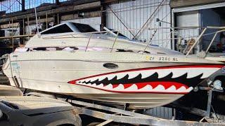 Забрал битую Яхту с аукциона. Титаник Чердака.