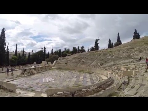 Day 22: Theatre of Dionysus, Acropolis, Athens
