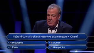 Who Wants to Be a Millionaire z Jeremym Clarksonem - seria 2 w BBC Brit