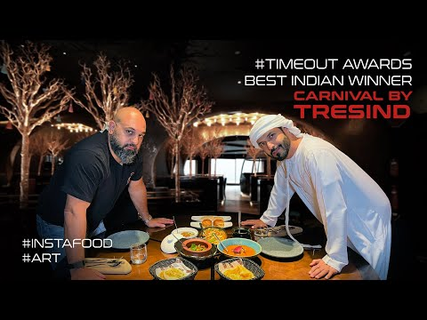 #instafood & #art with Timeout Awards Best Indian Restaurant Winner – Carnival by Tresind
