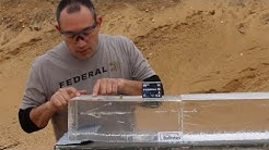 Federal Syntech Defense Ammo Penetrates 18 Inches in Gel Test