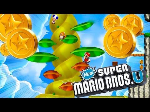 ¡EL TALLO MISTERIOSO! | New Super Mario Bros U Senda Superestrella #4