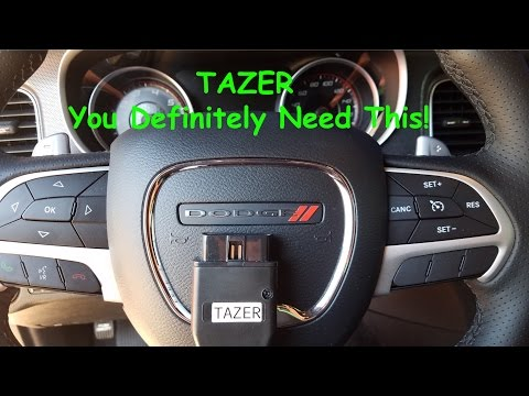 2016 Dodge Charger Scatpack TAZER Install