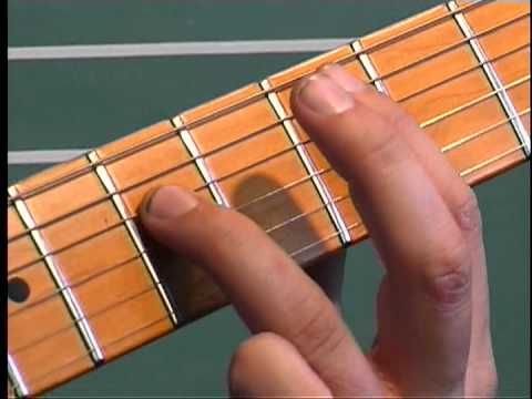 How To Play The Stroke by Billy Squire - Main riff - On Guitar by Adam Smith
