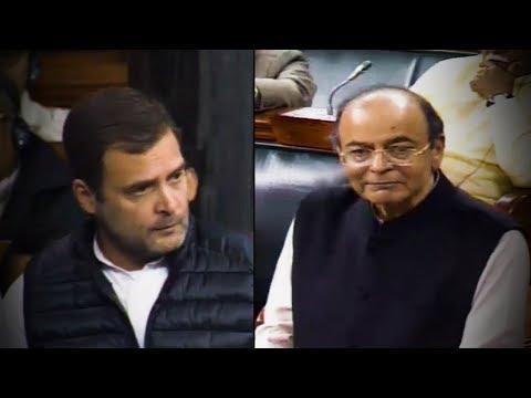 Rahul Gandhi vs Arun Jaitley: Watch how the Rafale row unfolded in LS