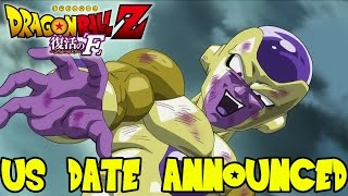 Dragon Ball Z Fukkatsu No F (Resurrection of Frieza): English Dub US Release Date Announced!