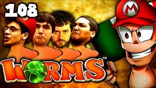 Chilled Rage Quits...Hard (Worms Clan Wars: The Derp Crew - Part 108)