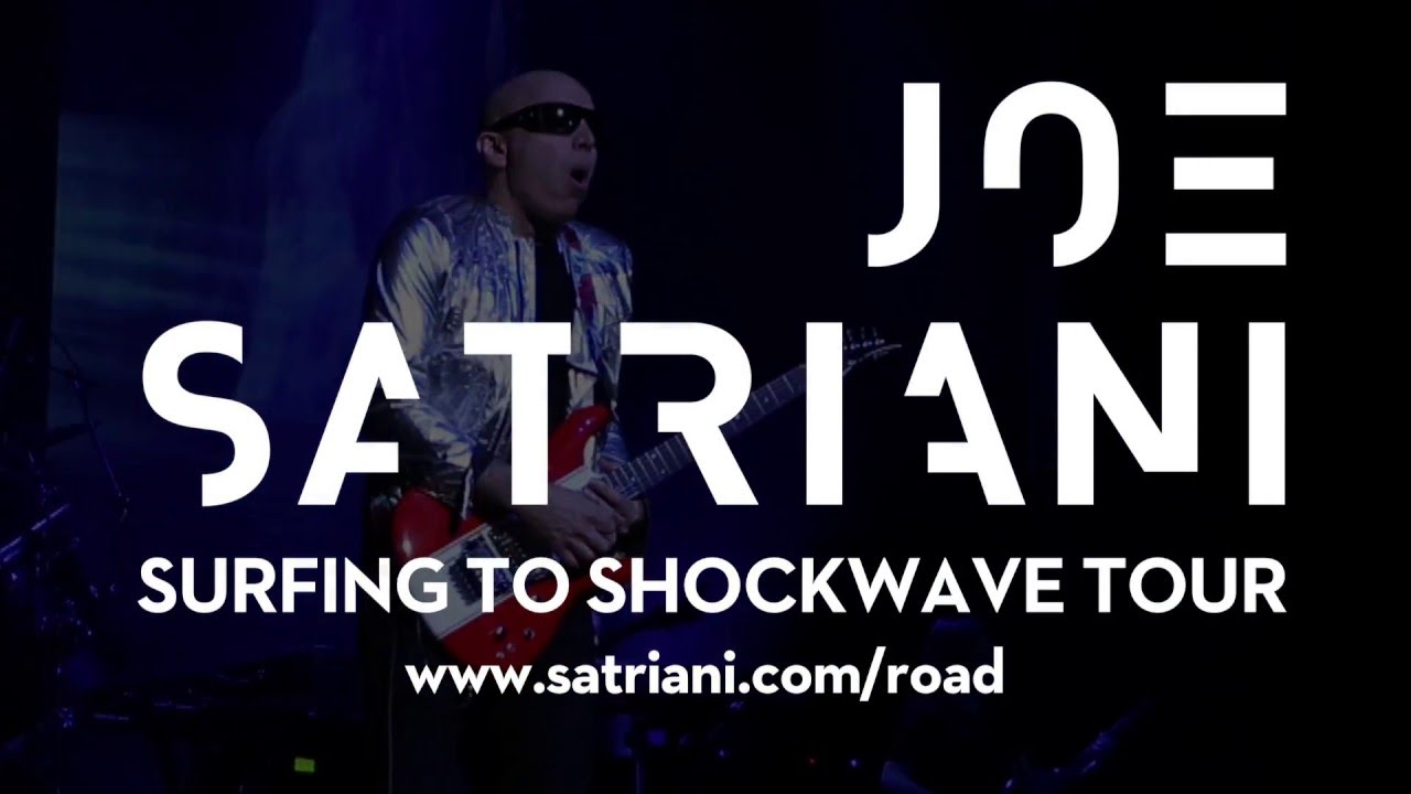 joe satriani surfing to shockwave north america tour feb apr 2016 youtube. Black Bedroom Furniture Sets. Home Design Ideas