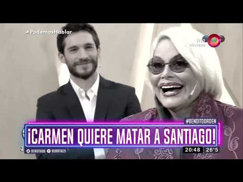 ¡Carmen quiere matar a Santiago!