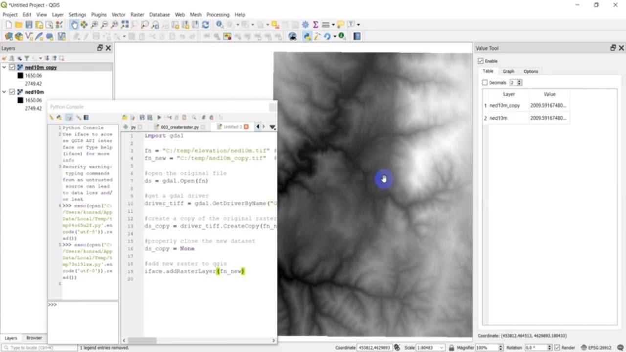 Python GIS - Copy a Raster (GDAL)