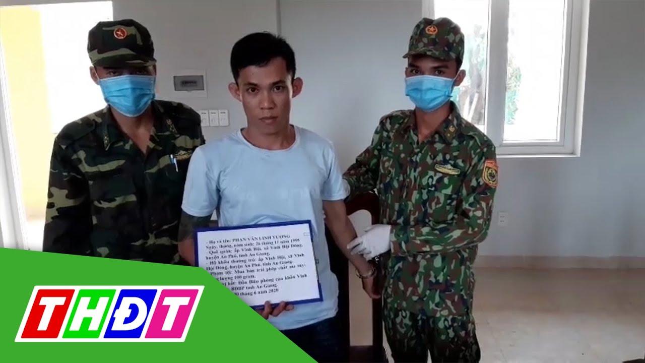 Bắt giữ đối tượng vận chuyển ma túy đá về Việt Nam tiêu thụ | THDT