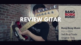 Review Gitar squier telecaster affinity ( BANGBONG MUSIC )