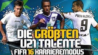 FIFA 16 Karrieremodus - Die 10 größten U21 Talente | Tipps & Tricks