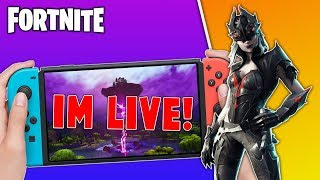 🔴 Fortnite Cube Event Nintendo Switch // 800 Wins // Solo Matches // Fortnite Gameplay + Tips!!