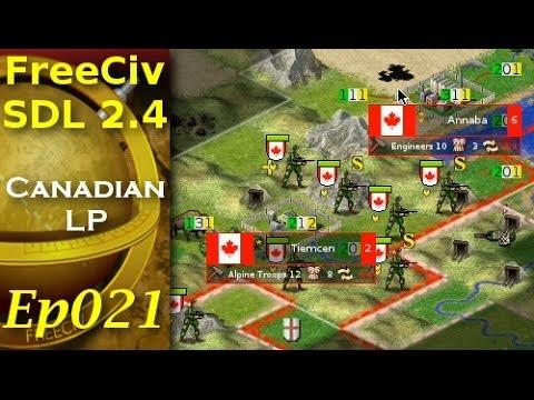 FreeCiv 2.4.0 [SDL Client] Canadian LP - Ep021