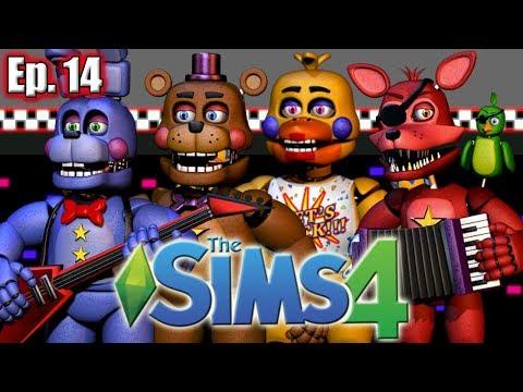 The Rockstar Animatronics!! - The Sims 4: Freddy Fazbear's Pizzeria Simulator - Ep 14