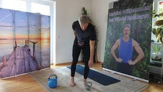 Упражнения с гирями для женщин после 50 ти лет