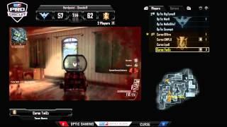 OpTic Gaming vs Curse - Game 1 - CLR6 - MLG Anaheim 2013