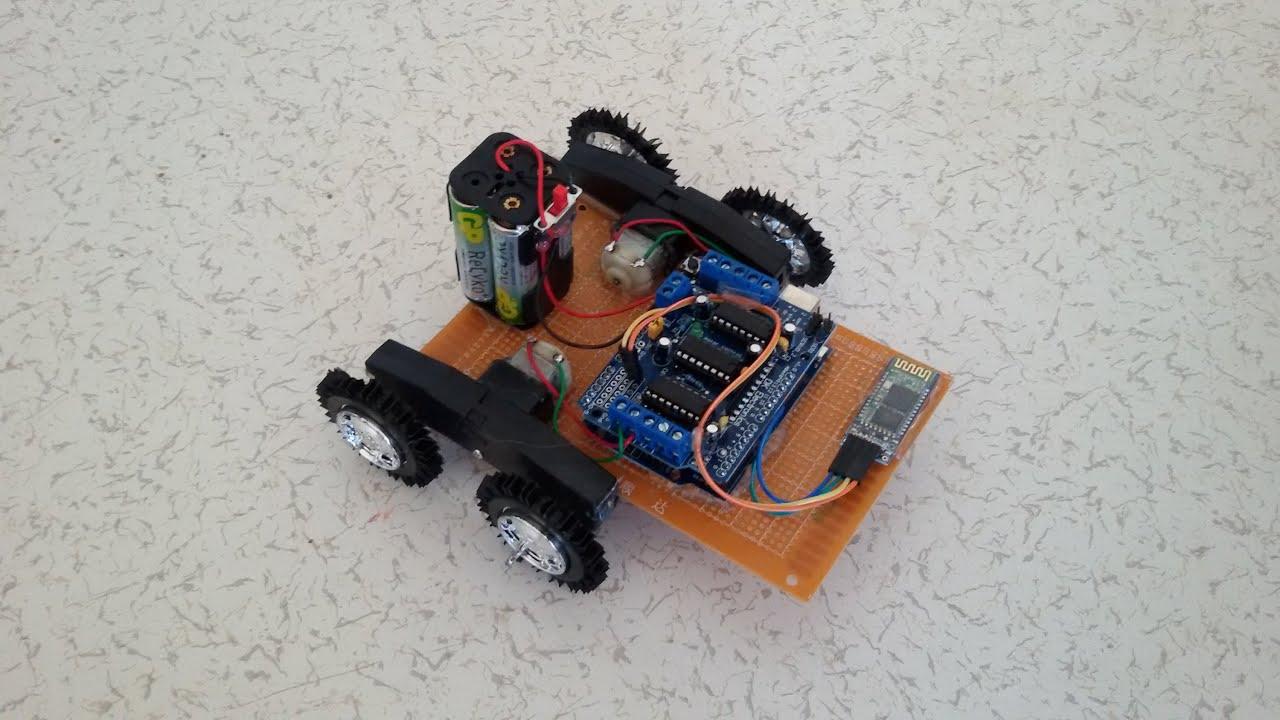 Sesle kontrol edilen robot youtube