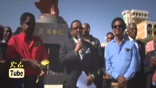 DireTube Video - Bob Marley's statue inaugurated in Addis Ababa, April 19, 2015