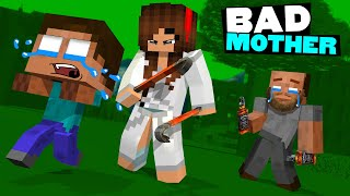 Monster School : POOR BABY HEROBRINE - Herobrine Bad Mother - Minecraft Animation