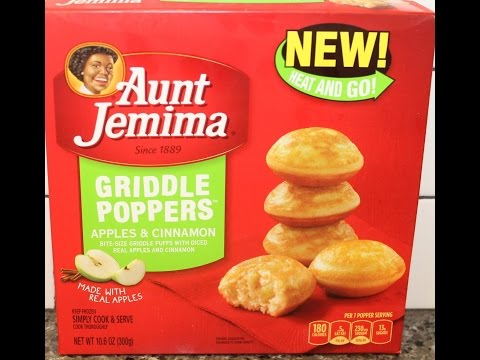 Aunt Jemima Griddle Poppers: Apples & Cinnamon Review