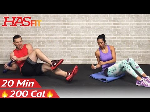 20 Minute Ab Workout for Women & Men – 20 Minute Abs Workout for People Who Get Bored Easily at Home