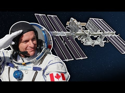 Soyuz MS-11 hatch opening: Canadian astronaut arrives at ISS