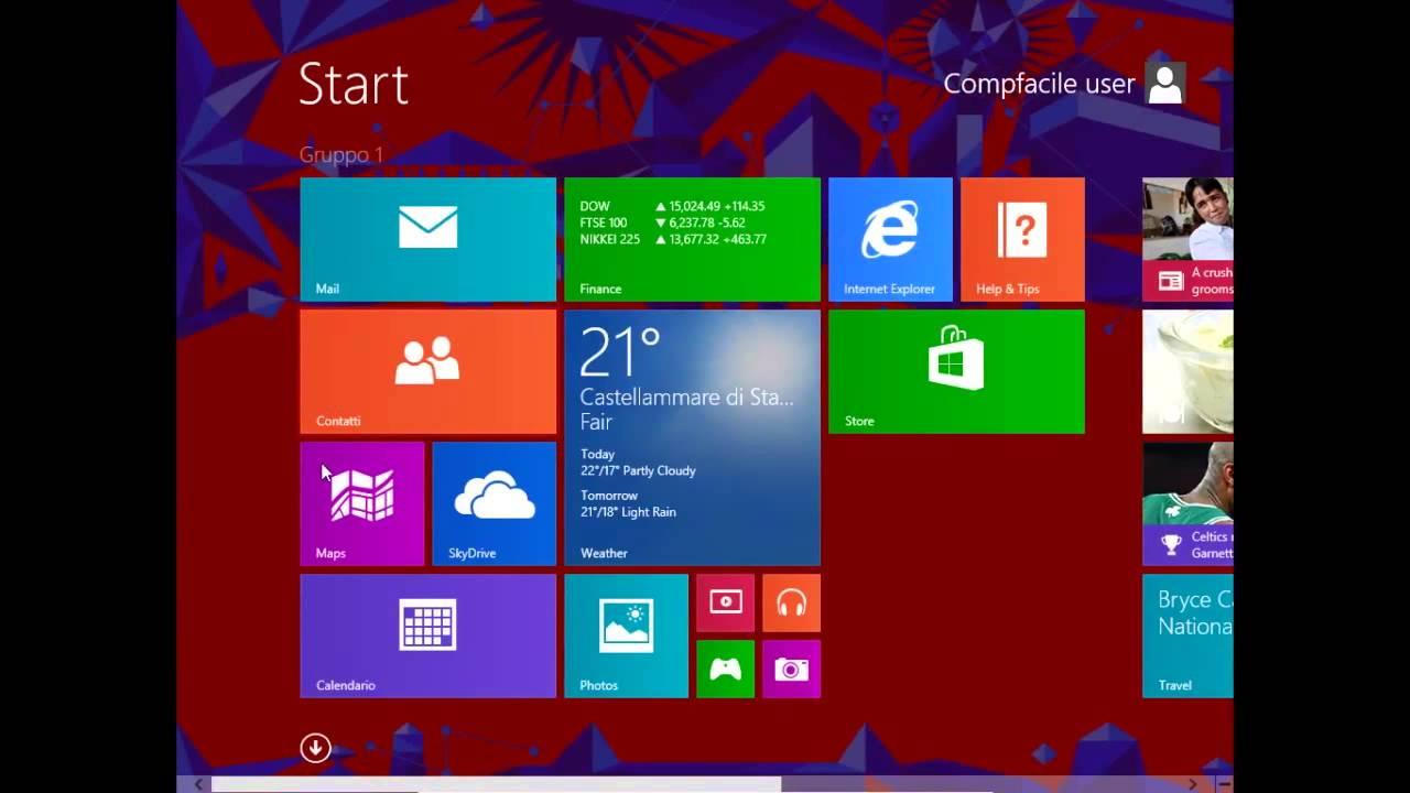 Windows 8 1 Preview Ita