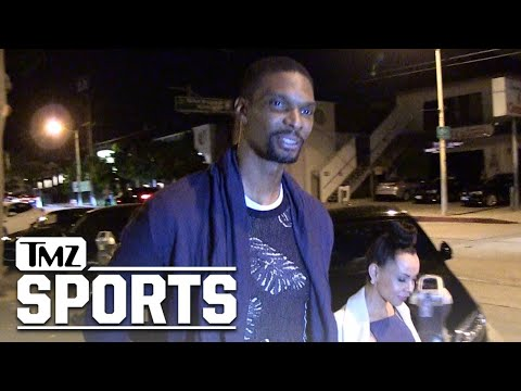 Chris Bosh Says LeBron & Wade Can Win A Ring In Cleveland | TMZ Sports