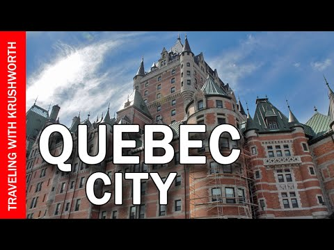 Things to do in Quebec City (Canada) travel/food guide tourism video
