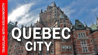 Things to do in Quebec City | Canada travel (food) guide | tourism attractions video