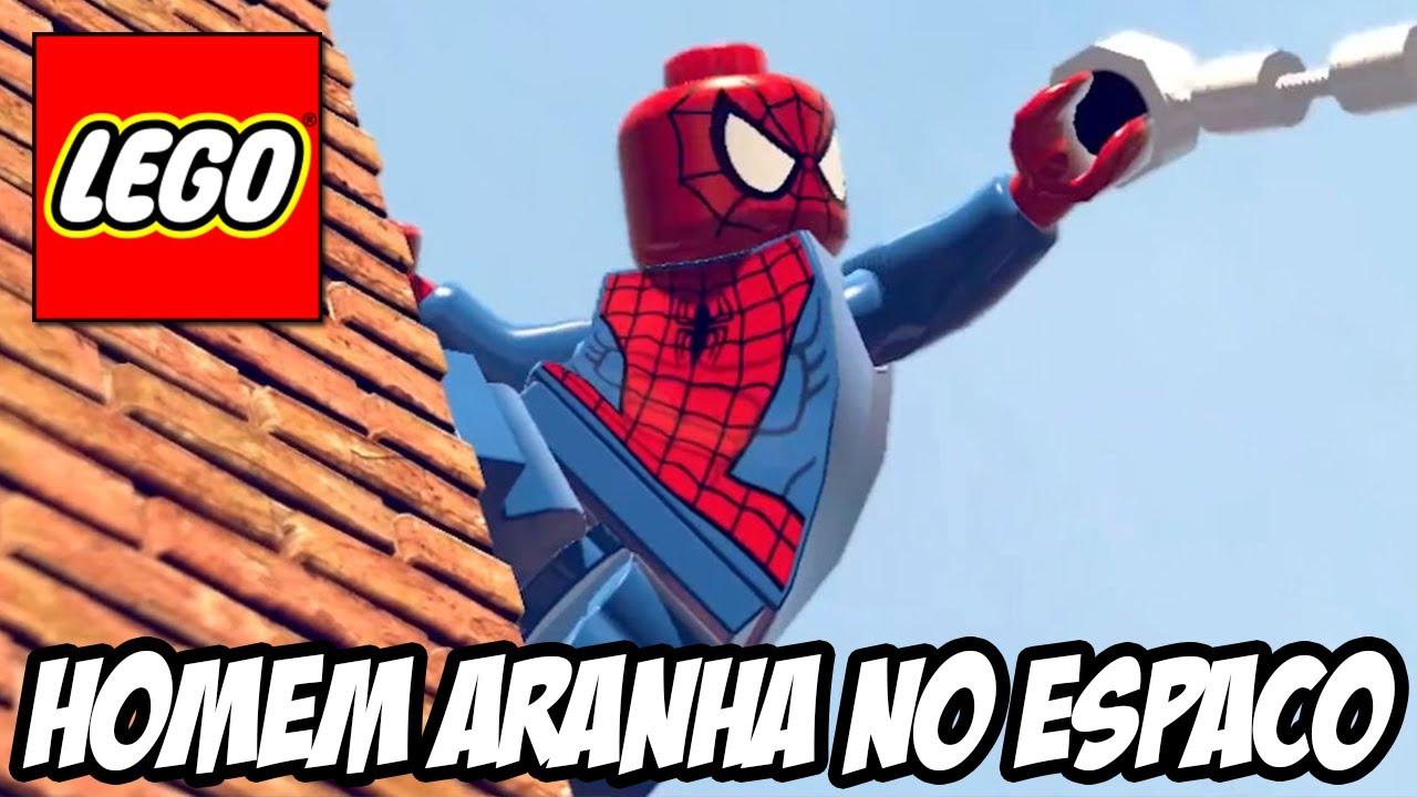 Lego Marvel Super Heroes Homem Aranha No Espao YouTube