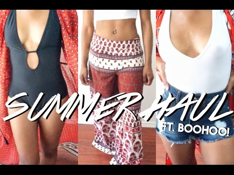 HUGE Boohoo Summer Vacation Try-On Haul!