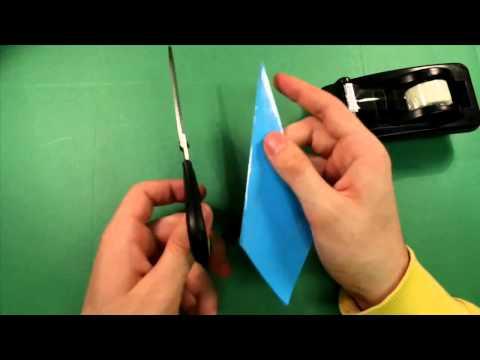 How to make a Paper Kunai Knife   Naruto kunai