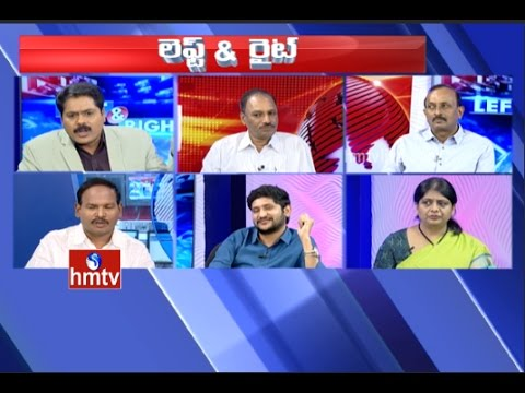 Hot Debate On Nara Lokesh Announced His Family Assets Details | Left & Right | HMTV