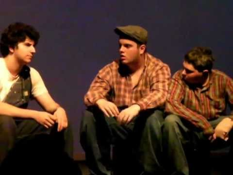"""Of Mice and Men"" - Act 5 The Woodhall School 02/24/13"
