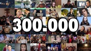 300k Tribute | JoomBoos originalna pjesma (Official Music Video)